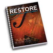 RESTORE Bible Study book cover
